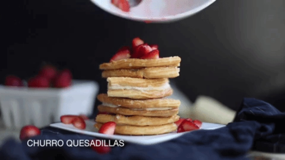 Churro Quesadillas by Kristi Murphy