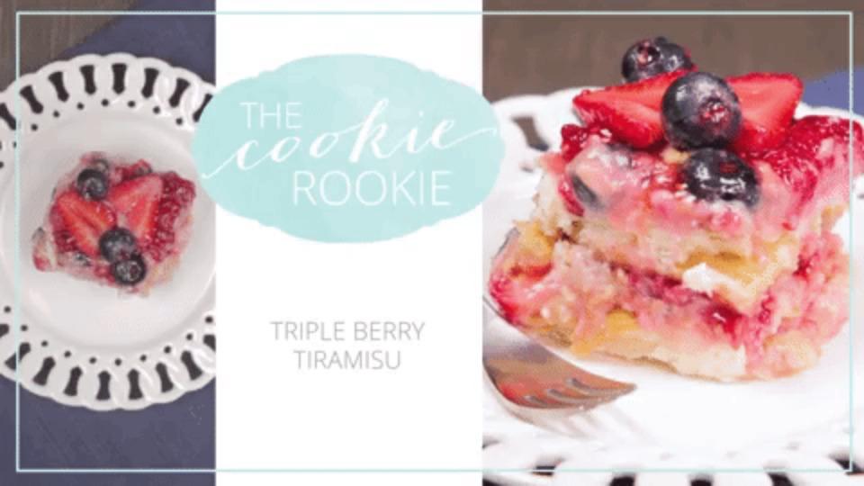 Tripe Berry Tiramasu
