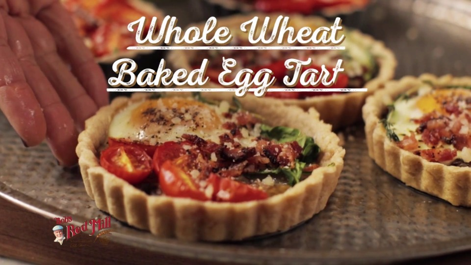 Whole Wheat 4″ Baked Egg Tarts